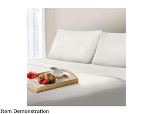 Lavish Home 1000 Thread Count Cotton Sateen Sheet Set - Queen - White