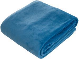 Lavish Home Super Soft Flannel Blanket - Full #47;Queen