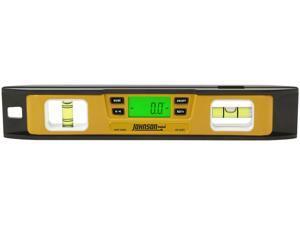 """Johnson Level 1457-1000 10"""" Magnetic Electronic Digital Torpedo Level"""