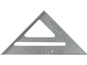 "Johnson Level 1900-0700-10 7"" Aluminum Rafter Square"