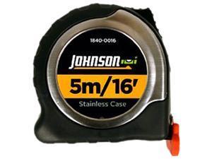 Johnson Level 1840-0016 5m/16' Metric/Inch Big J Magnetic Power Tape