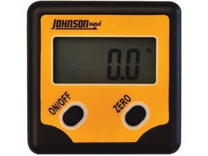 Johnson Level 1886-0100 Professional Magnetic Digital Angle Locator 2 Button