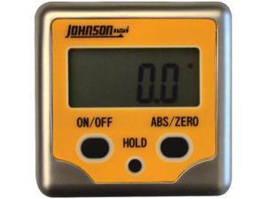 Johnson Level 1886-0200 Professional Magnetic Digital Angle Locator 3 Button