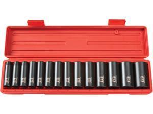 TEKTON 4884 1/2 in. Drive Deep Impact Socket Set (11-32mm) 12 pt. Cr-V