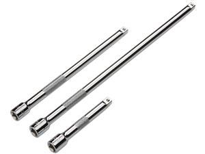 TEKTON  1596  3-pc. 1/4 in. Drive Extension Bar Set - Cr-V
