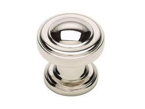 Atlas 313-PN Bronte Round Knob -Polished Nickel