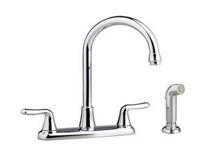 American Standard 4275.551.002 Colony Soft Gooseneck Kitchen Faucet w/ spray Polished Chrome