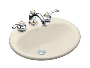 "KOHLER K-2906-4-47 Ellington Self-rimming Lavatory With 4"" Centers"