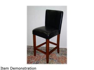 4D Concepts Deluxe Black Barstool