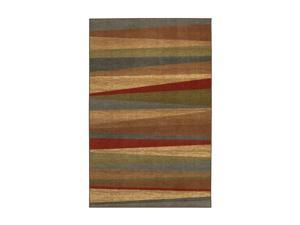 "Mohawk Home New Wave Mayan Sunset Sierra Rug Brown 96""x120"" 10482 453 096120"