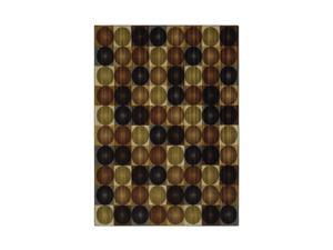 "Mohawk Home Canvas Keelan Earth Rug Brown 60""X96"" 10488 452 060096"