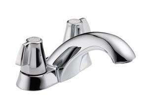 DELTA 2500LF Classic Two Handle Centerset Lavatory Faucet - Less Pop-Up