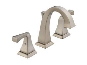 DELTA 3551LF-SS Dryden Two Handle Widespread Lavatory Faucet