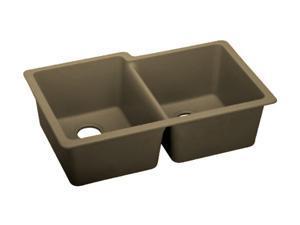 Elkay ELGU250RMC0 Gourmet e-granite Undermount Sink