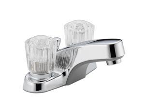 "Peerless P245LF 4"" Centerset Two Handle Lavatory Faucet Chrome"