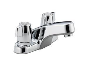 "Peerless P241LF 4"" Centerset Two Handle Lavatory Faucet Chrome"