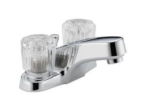 "Peerless P299621LF 4"" Centerset Two Handle Lavatory Faucet Chrome"