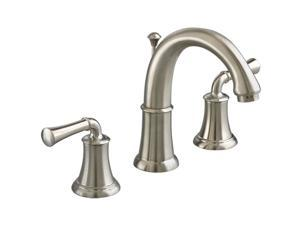 "American Standard 7420.801.295 12"" Widespread Portsmouth Two-Handle Lavatory Faucet Satin Nickel"