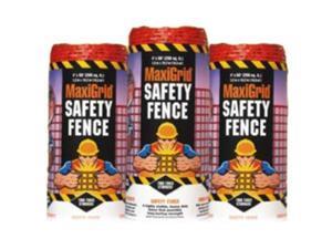 Easy Gardener BX20511412P 4' x 50' Orange Maxi Grid Safety Fence