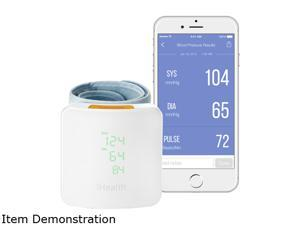iHealth White Wireless Blood Pressure Wrist Monitor w/ Display White