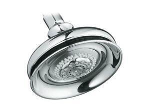 KOHLER K-12009-CP Fairfax Multi Function Shower Head Polished Chrome