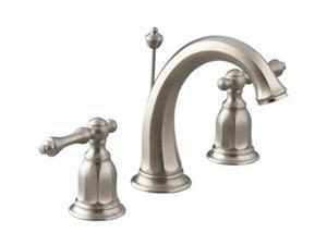 KOHLER K-13491-4-BN Kelston Widespread Lavatory Faucet