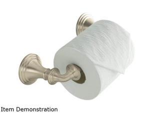 KOHLER K-10554-BN Devonshire Toilet Tissue Holder, Double Post