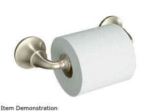 KOHLER K-11274-BN Forte Traditional Toilet Tissue Holder