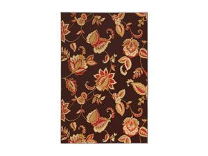 "Mohawk Home Pinnacle Pinnacle Java Coast Rug Brown 132"" x 96"" x 0.394"" 58800 58047 096132"