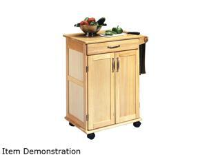 Home Styles 5040-95 Natural Wooden Kitchen Cart