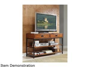 Home Styles Modern Craftsman 5050-06 Rustic Distressed Oak TV Stand