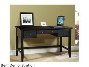 Home Styles 5531-15 Bedford Black Executive Desk