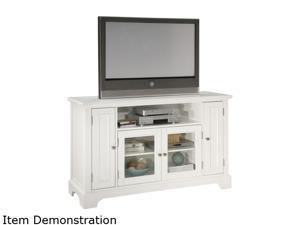 Home Styles Naples 5530-10 White TV Credenza
