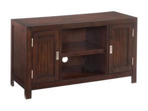 Home Styles City Chic 5536-09 Contemporary Espresso TV Stand