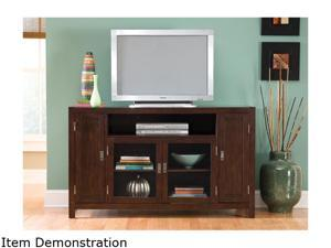 Home Styles City Chic 5536-10 Contemporary Espresso TV Credenza