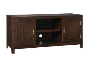 Home Styles City Chic 5536-12 Contemporary Espresso TV Stand