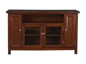Home Styles Hanover 5532-10 Transitional Cherry TV Credenza
