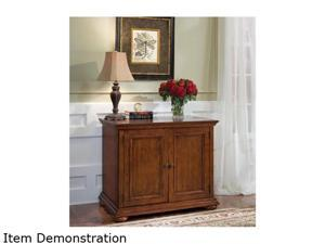 Home Styles 5527-19 Homestead Distressed Warm Oak Desk