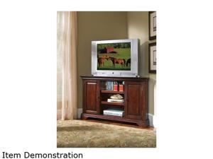 Home Styles Lafayette 5537-07 Traditional Cherry Corner TV Stand