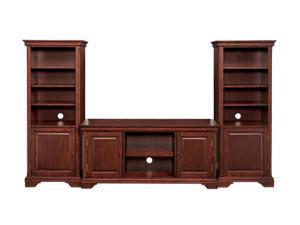 Home Styles Lafayette 5537-34 Traditional Cherry 3PC Ent Center