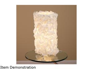 LumiSource Lace Table Lamp Ivory