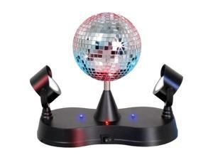 LumiSource Disco Ball w/ 2 Mirrors Multi