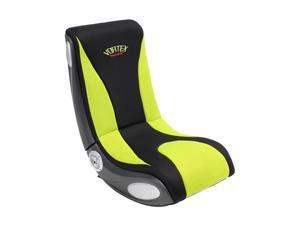 LumiSource BM-VORTEX BK+LG BoomChair Vortex Lime Green