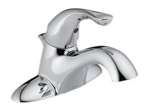 Delta 520-MPU-DST Classic 4 in. Centerset 1-Handle Bathroom Faucet in Chrome