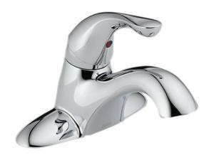 "DELTA 501-DST Euro Modern 4"" Centerset Classic Single Handle Centerset Lavatory Faucet - Less Pop-Up Polished Chrome"