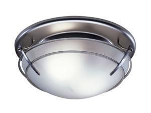 Broan 757SN 80-CFM Decorative Fan/Light, Satin Nickel Finish
