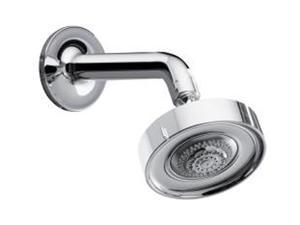 KOHLER K-14425-CP Purist Multifunction Showerhead, Arm and Flange