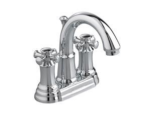 """American Standard 7420.221.002 Euro Modern 4"""" Centerset Portsmouth Two-Handle Centerset Lav Faucet Polished Chrome"""