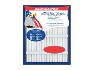 "American Air Filter 180-934-700 20"" X 20"" X 4-3/8"" Dust Shield Air Filter (3 Pack)"