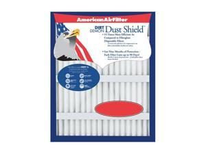 "American Air Filter 222-863-051 24"" X 24"" X 1"" Dust Shield Air Filter (12 Pack)"